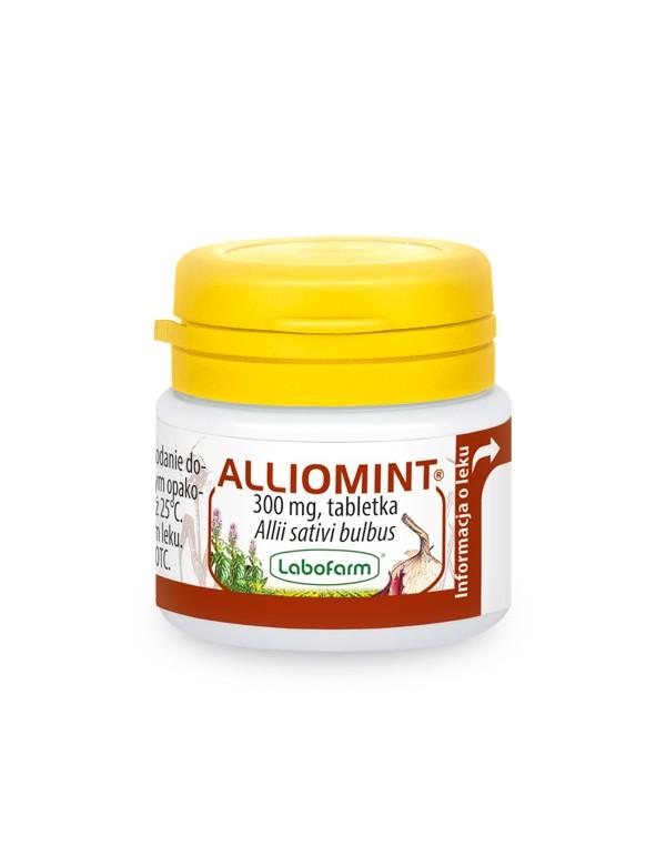 lek ziolowy na cholesterol i odpornosc alliomint