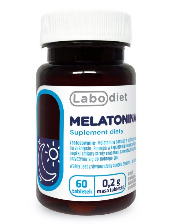 labodiet melatonina na dobry sen