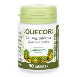 lek ziolowy na biegunke quecor